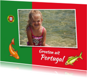 Vakantie - Portugeese vlag
