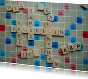 Valentijn scrabble - wordfeud
