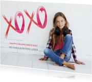 Valentijn XOXO Kusjes Modern