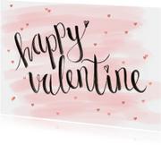 Valentijnskaart aquarel hip