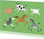 varken-koe-schaap-zebra-paard-ezel