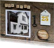 Verhuiskaart collage new home