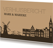 Verhuiskaart gevels holland av