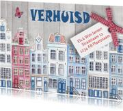 Verhuiskaart HUISJES Hollands