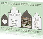 Verhuiskaart Huisjes - WW
