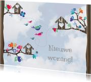 Verhuiskaart samenwonen lucht