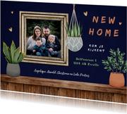 Verhuiskaart trend inrichting huis planten