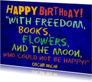 Verjaardag boekenwurm IW