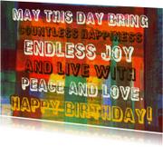 Verjaardag happiness IW