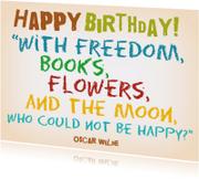 Verjaardag Happy Moon IW