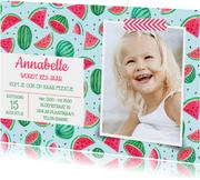 Verjaardagfeestje watermeloen