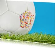 Voetbal - felicitatie of feest