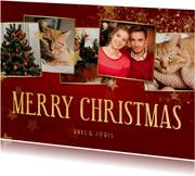 Weihnachtsgrußkarte Bilderreihe