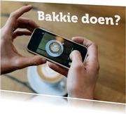 Winkelhof Samen koffie drinken kaart