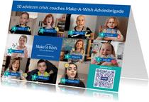 10 adviezen crisis coaches Make-A-Wish Adviesbrigade