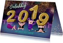 2019 jaar van het feestvarken