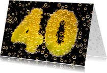 40 in feestelijke champagne