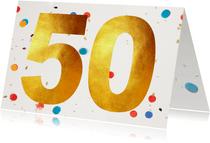 50 felicitatie confetti