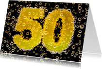50 in feestelijke champagne