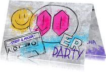 90er Grunge Party Einladung
