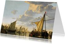 Albert Cuyp. De Maas bij Dordrecht