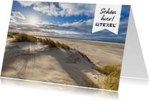 Ansichtskarte Strandmotiv Texel