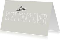 Best mom moederdagkaart