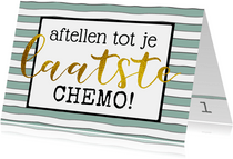 Beterschap Aftellen chemo