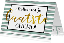 Beterschap Aftellen chemo