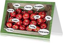 beterschap mand met appels