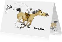 Beterschapskaarten van paard gevallen