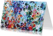 Bloemen schilderkunst iets fraais Martine de Ruiter