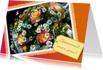 Bloemenkaart Speciaal label