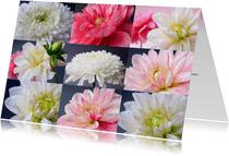 Bloemenkaart Wij houden van jou ...