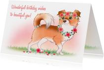 Chiwowy Verjaardagskaart meisje