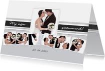 Collage wij zijn getrouwd! - BK