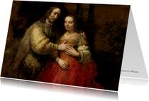 De Joodse bruid - Rembrandt