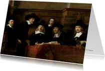 De Staalmeesters - Rembrandt