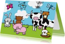 Dierenkaart Boerderij