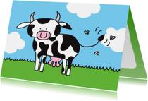 Dierenkaart Koe