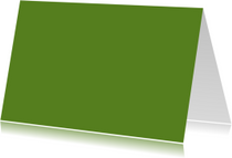 Donker groen dubbel liggend
