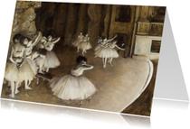 Edgar Degas, De balletvoorstelling