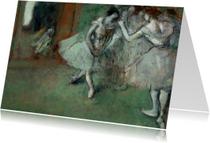Edgar Degas. Groep danseressen