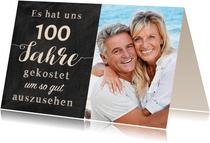 Einladung Gemeinsam Gut aussehen 100