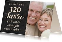 Einladung Gemeinsam Gut aussehen 120