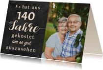Einladung Gemeinsam Gut aussehen 140