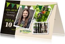 Einladung Kindergeburtstag Kletterwald Niederrhein