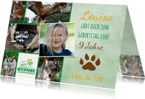 Einladung Wildpark Johannismühle
