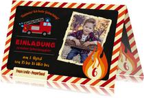 Einladung zum Geburtstag im Feuerwehr Feuerland