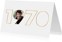 Einladung zum Geburtstag Jahrgang 1970